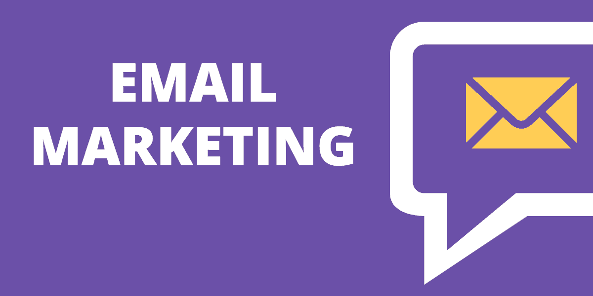What are the 4 types of marketing emails?